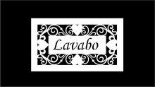 PLACA PORTA LA172/30 - LAVABO - 2522
