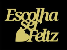 RECORTE ESCOLHA SER FELIZ LA661 - 301680