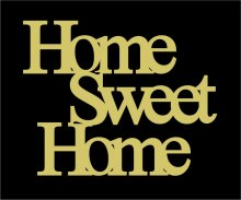 RECORTE HOME SWEET HOME LA667-14