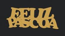 RECORTE FELIZ PÁSCOA 2 LA500